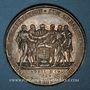 Münzen Allemagne. Spire. 300e anniversaire de la naissance du Protestantisme. 1829. Médaille argent