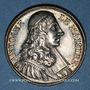 Münzen Antoine Le Maistre, avocat (1608-1658). Médaille argent gravée par Dassier