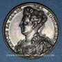 Münzen Antoinette du Ligier de la Garde, dame des Houlières. Poète (1638-1694). Médaille argent