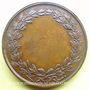 Münzen Athéna (vers 1820). Médaille en bronze. 33 mm. Gravée par Dubois