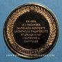 Münzen Bataille d'Austerlitz. 1805. Médaille vermeil. Frappe moderne !