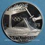 Münzen Canada - XXIe Olympiades. Montréal, 1976. Médaille argent.  40 mm.