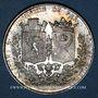 Münzen Chemin de fer St Etienne à Lyon 1826, médaille argent 36,5 mm. Tiolier. Poinçon : main indicatrice