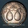 Münzen Danemark. Anniversaire des princesses Louise de Mecklenbourg et Sophie Edwige du Danemark. 1699. Arg