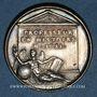 Münzen David Blondel, historien (1590-1655), né à Châlons-en-Champagne. Médaille argent gravée par Dassier