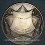 Münzen Déportation 1939-1945. 1966. Médaille bronze argenté. 67,90 mm