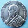 Münzen Edgar Quinet. Centenaire de sa naissance. 1903. Médaille bronze argenté 39,8 mm. Gravée par L. Micot