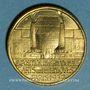 Münzen Exposition internationale Arts & Techniques Paris. Le travail du verre. 1937. Médaille en bronze