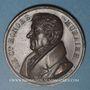 Münzen Franc-Maçonnerie. Honoré Muraire, lieutenant grand commandeur de l'Ordre Ecossais. 1829. Médaille cu