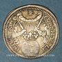 Münzen Francfort. Couronnement de Léopold I. 1658. Frappe en argent du demi-ducat