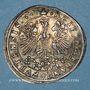 Münzen FRANCFORT. Prix d'école du gymnase (1670-1690). Médaille en argent. 26,02 mm