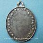 Münzen Gray. Orphelinat St Joseph (vers 1875). Médaille en argent. Ovale. 27,9 x 37,3 mm