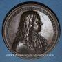 Münzen Henri de la Tour d'Auvergne, dit Turenne (1611-1675). 1683. Médaille bronze. 53,2 mm