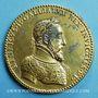 Münzen Henri II. Médaille 1552. Bronze doré 54 mm, gravée par Etienne de Laune