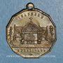 Münzen Inauguration de la chapelle Saint-Ferdinand. 1.7.1843. Médaille cuivre jaune
