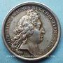 Münzen Le roi d'Angleterre refugié en France. 1689. Médaille en argent. 41 mm. Gravée par Mauger