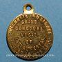 Münzen Lille. Concours vocal et instrumental. 1855. Médaille laiton, avec anneau