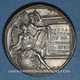 Münzen Louis XIV, roi de France (1638-1715). Médaille argent gravée par Dassier