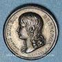 Münzen Louis XVII. 1785-1795. Médaille de souvenir. Argent. Gravée par F. Depaulis