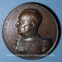 Münzen Lyon. Comte de Castellane. 1851. Médaille en bronze. 61 mm. Gravée par L. Schmitt