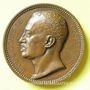 Münzen Lyon. Comte de Castellane. 1851. Médaille en bronze. 62 mm. Gravée par Bonnet