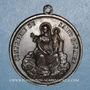 Münzen Lyon. Notre Dame de Fourvières. Confrérie du Saint Rosaire. 1859. Médaille bronze