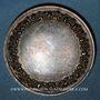Münzen Médaille de mariage. Argent. Gravée par Gayrard. Poinçon : main
