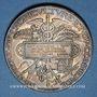 Münzen Ministère de l'Agriculture et du Commerce. Eaux minérales. 1877. Médaille argent