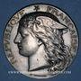 Münzen Ministère du Commerce. Commission permanente des valeurs de douanes. 1894. Médaille argent