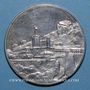 Münzen Monaco. Principauté. Rainier III, 25e année de règne. Médaille argent. 38,5 mm