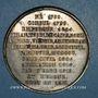 Münzen Mort de l'Empereur Napoléon 1er. 1821. Médaille en étain