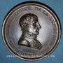 Münzen Napoléon I. Paix de Lunéville. 1801. Médaille bronze. 42 mm. Gravée par Andrieu