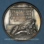 Münzen Nicolas Malebranche, philosophe et théologien (1638-1715). Médaille argent gravée par Dassier