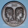 Münzen Nîmes. Congrès scientifique de France. 1844. Médaille bronze. Gravée par Marius Penin
