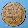 Münzen Orange. Inauguration des fêts littéraires du théâtre antique. 1897. Médaille en cuivre