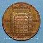 Münzen Paris. 20e anniversaire du magasin Au Printemps, boulevard Haussmann. 1884. Médaille bronze