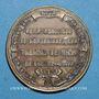 Münzen Paris. Compagnie fermière d' l'Etablissement thermal de Vichy. Médaille en bronze. 33,8 mm
