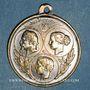 Münzen Paris. Exposition universelle. 1867. Médaille laiton argenté. 27,65 mm
