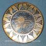 Münzen Paris-Rio de Janeiro. Premier vol supersonique commercial 1976. Médaille argent. 38,5 mm