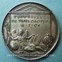 Münzen Pierre Bayle. Philosophe (1647-1706). Médaille argent. 28,3 mm. Gravée par Jean Dassier