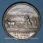 Münzen Romulus, fondateur de Rome. Médaille argent (18e)