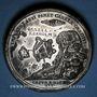 Münzen Russie. Pierre le Grand (1689-1725). Prise de la Carélie et de Kexholm. Médaille en étain. 46,4 mm