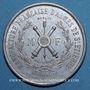 Münzen Saint-Etienne. Manufacture d'armes. 10 000e fusil Idéal. Médaille alu. 37,8 mm gravée par Cartaux
