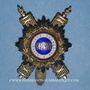 Münzen Sénat. 3e république (1870-1940). Insigne de sénateur baromètre (1876-1940). Argent, arg. doré...