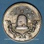 Münzen STUTTGART. Ecole élémentaire. Prix d'école. Médaille en argent. 24,55 mm