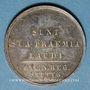 Münzen STUTTGART. Lycée royal. Prix d'école. Médaille en argent. 22,90 mm