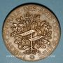 Münzen Union Centrale des Arts Décoratifs. 7e exposition 1882. Médaille bronze. 49,3 mm