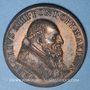 Münzen Vatican. Grégoire XIII. Ouverture de la Porte Sainte. 1575. Médaille de restitution, bronze