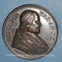 Münzen Vatican. Pie IX (1846-1878). Défense des droits de l'Eglise, an XXIV - 1869. Médaille cuivre