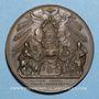 Münzen Vatican. Pie IX (1846-1878). Doctrine fondamentale de l'Eglise 1860, an XV. Médaille en cuivre